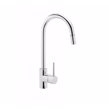 Змішувач для кухні c висувним виливом GENEBRE TAU (FRV61206)