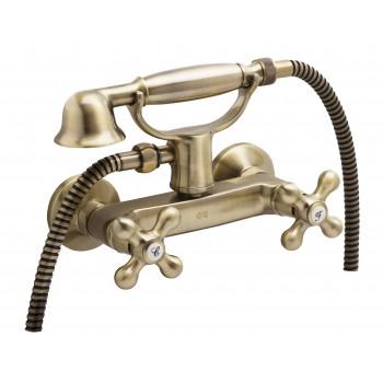 Двохвентильний змішувач для душа GENEBRE NRC c душовим гарнітуром (68531094366)